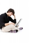 guy on laptop