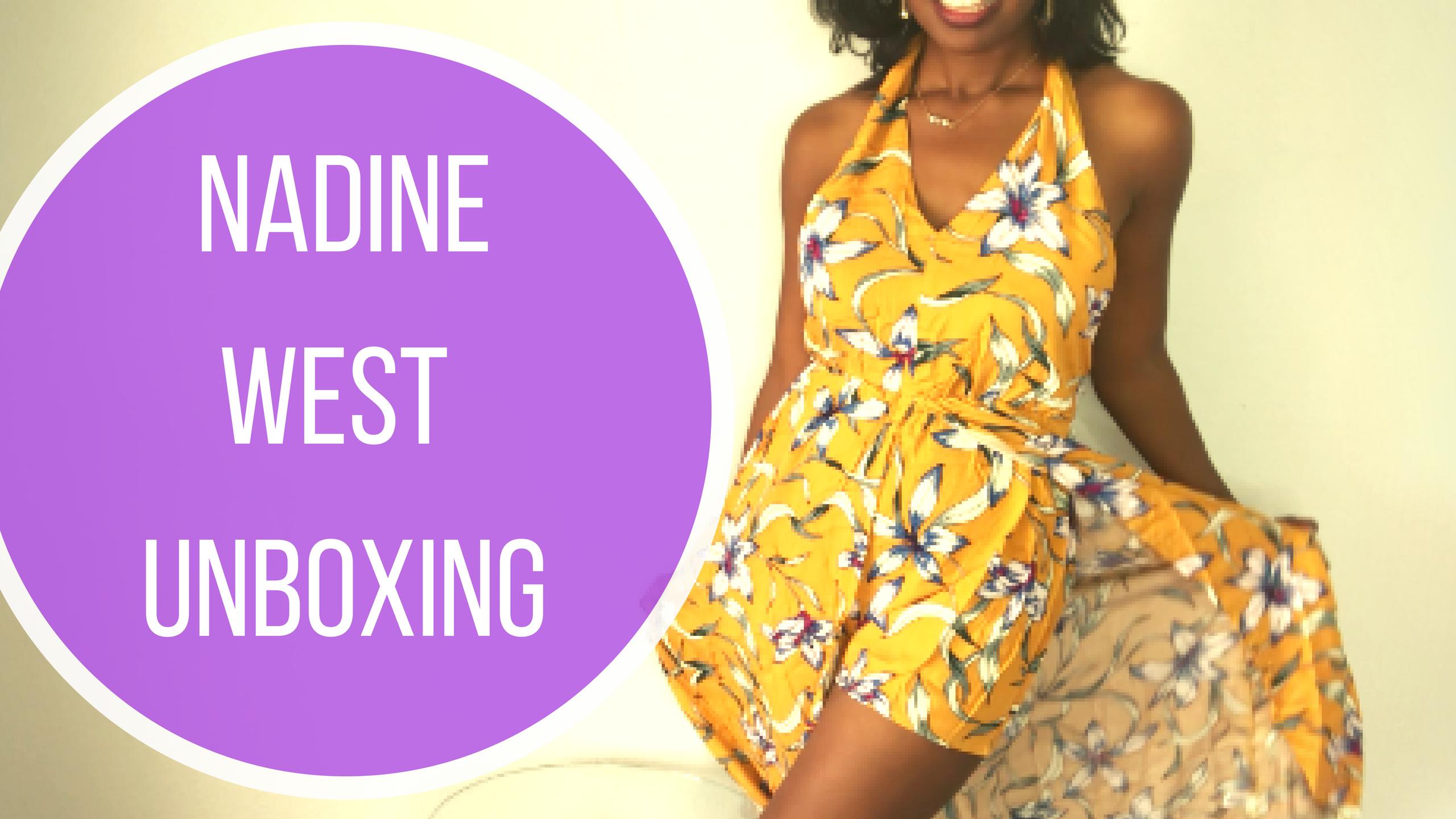 Nadine WestUnboxing (9)