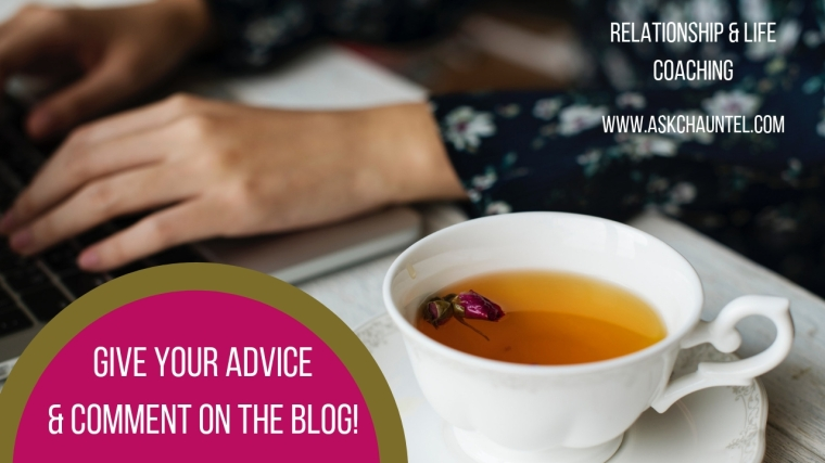 Read the Advice Column, Blogs, & Give Advice